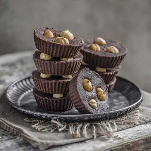 Chickpea Chocolate Fudge Bites