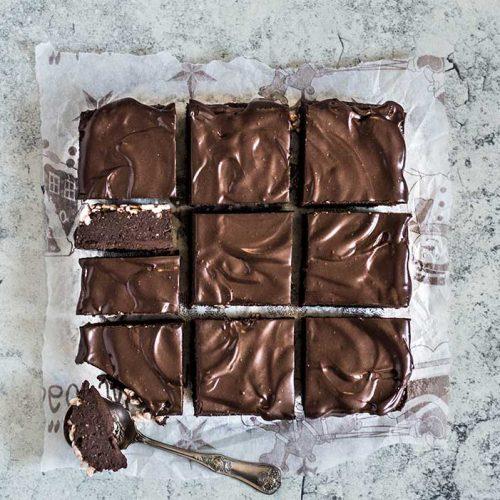 Buckwheat Chocolate Hazelnut Brownies
