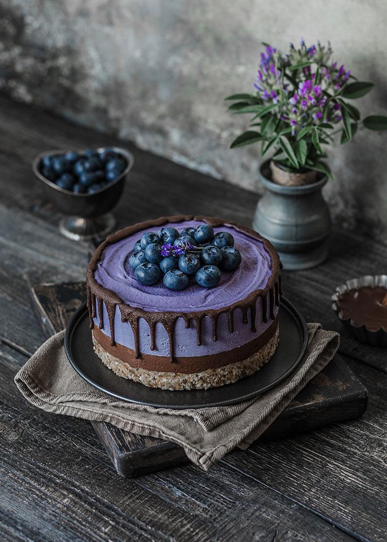 Maqui Chocolate Cheesecake Rainbow In My Kitchen