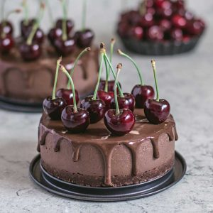 Healthy Millet No-Bake Chocolate Cake