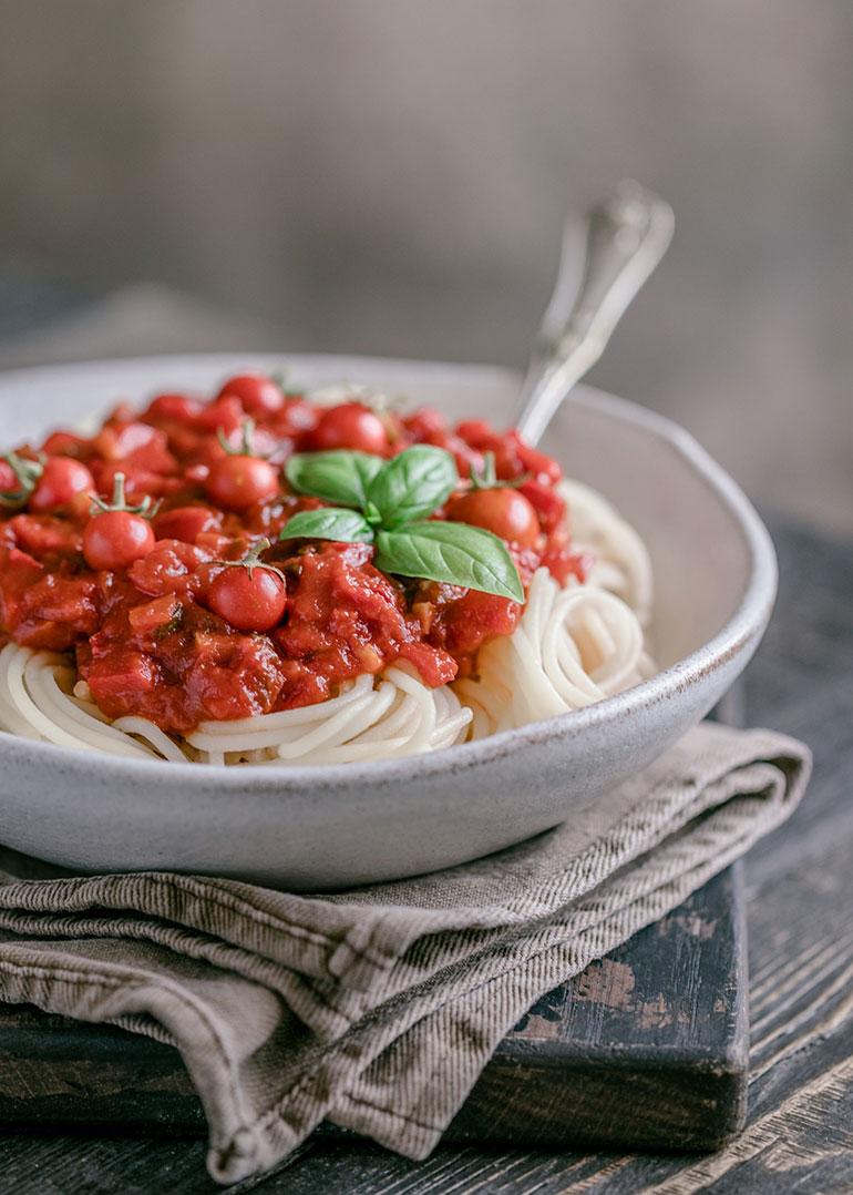 Tomato Red Pepper Pasta Sauce