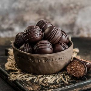 Buckwheat Chocolate Hazelnut Bliss Balls