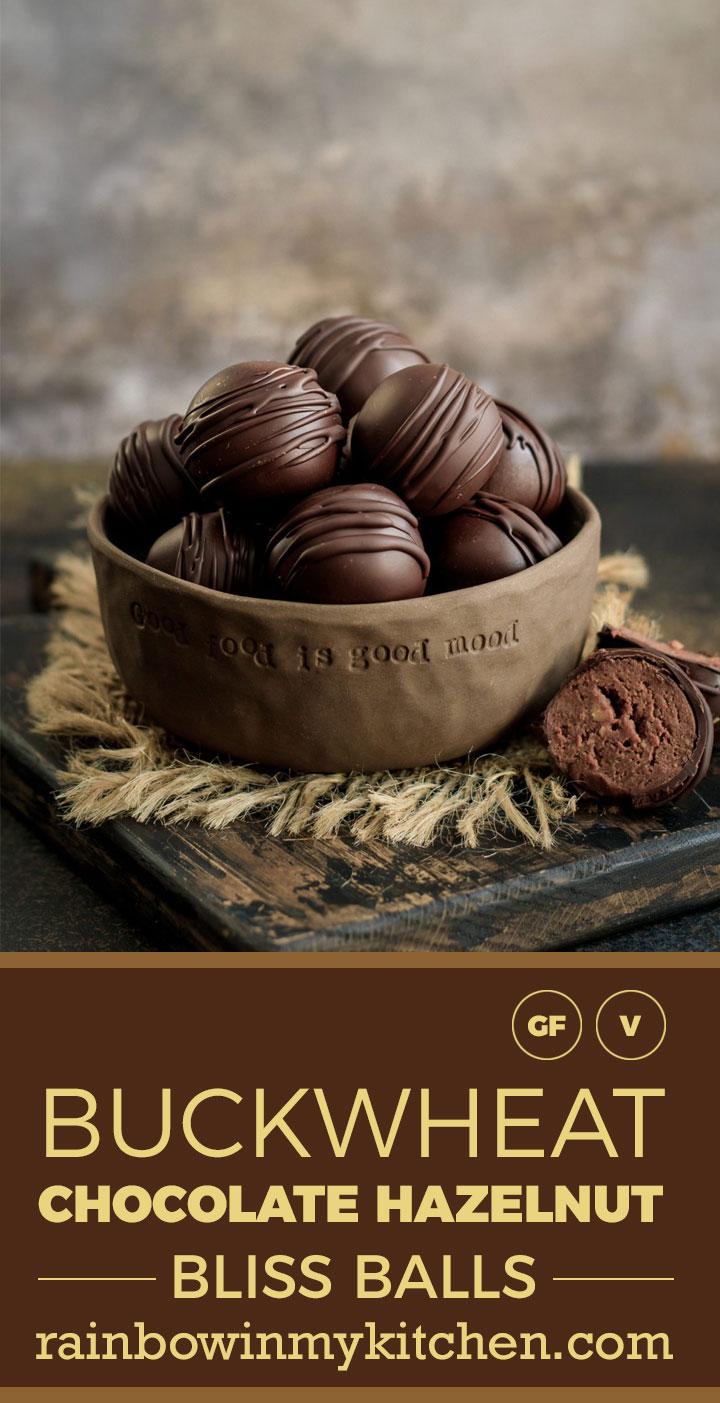 Bukwheat chcolate hazelnut blissballs