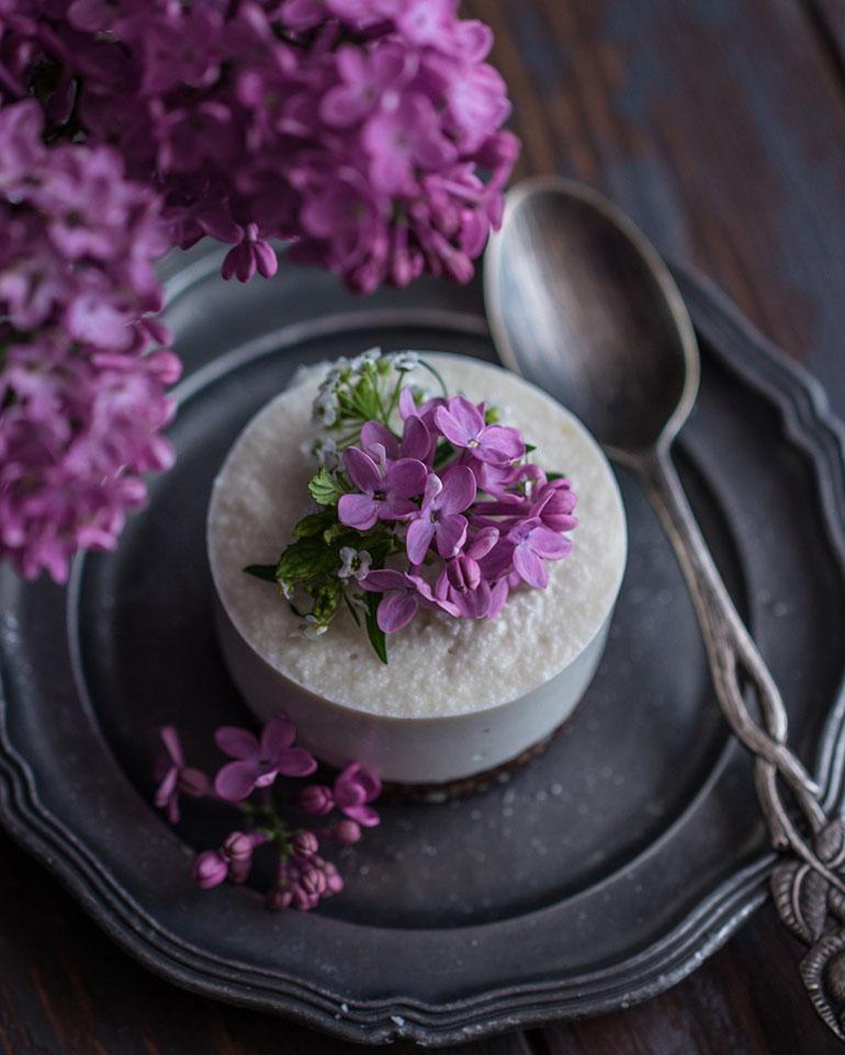 Coconut Mini Cheesecakes