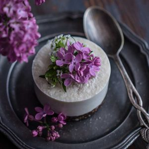 Coconut Mini Cheesecakes