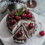 Cherry Coconut & Chocolate Cake