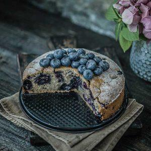 Gluten-Free Blueberry Cake