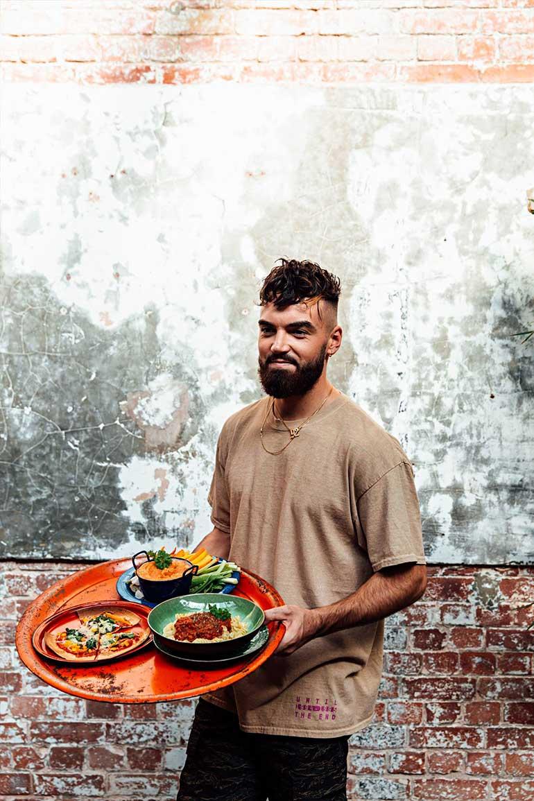 Vegan Chef Gaz Oakley