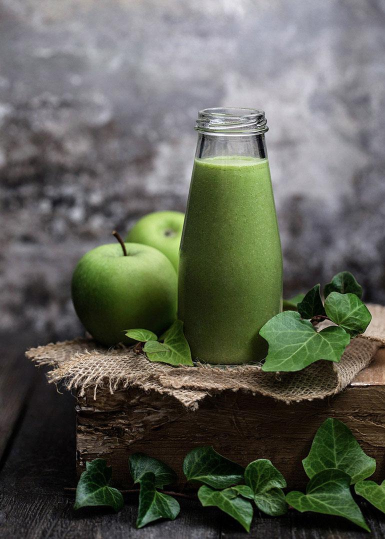 Green Power Smoothie Jar
