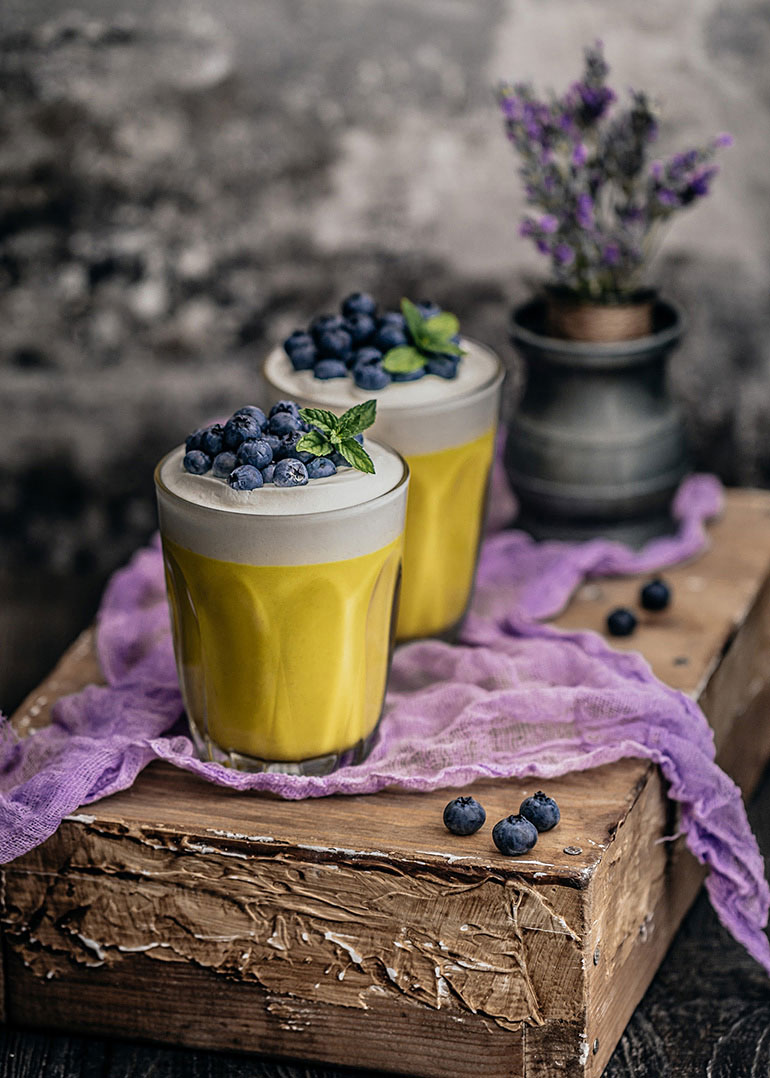 Protein-Rich Mango Lime Pudding