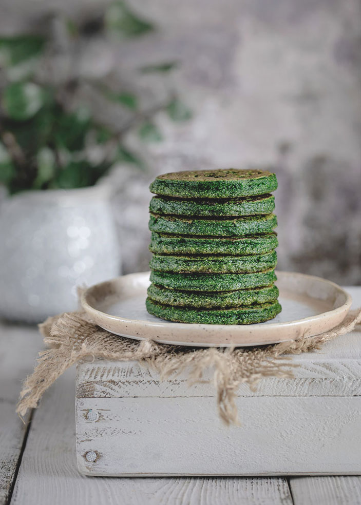 Chickpea Flour Spinach Pancakes