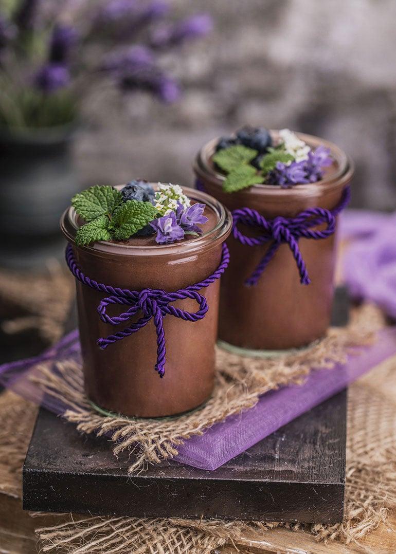 Chickpea Chocolate Pudding