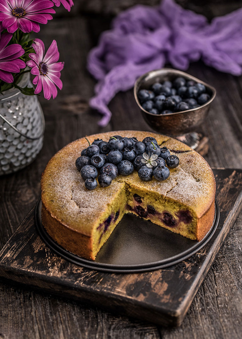 Lemon Blueberry Cake