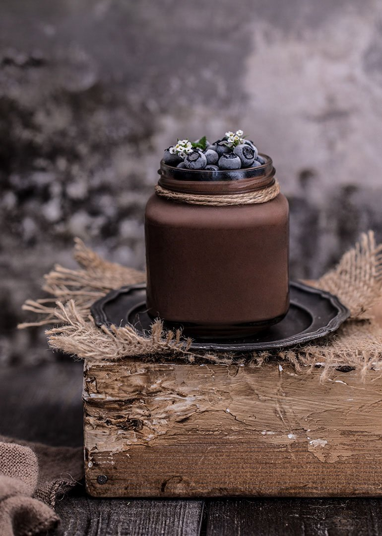 Silken Tofu Chocolate Pudding