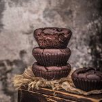 Flourless Chickpea Chocolate Muffins