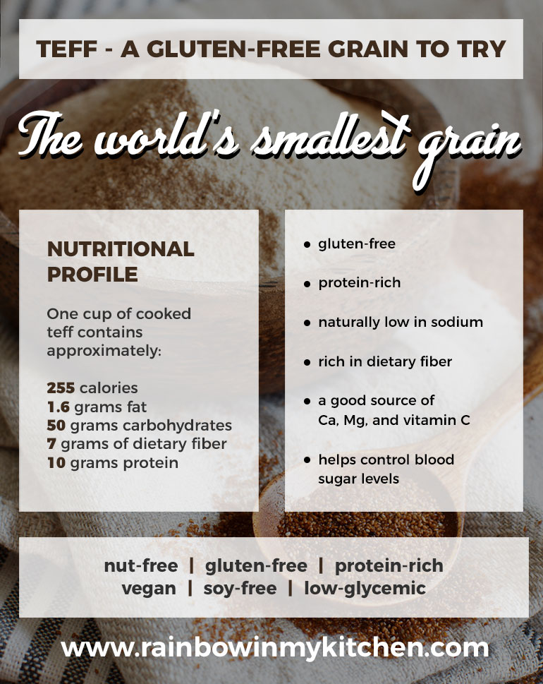 Teff - the world's smallest grain