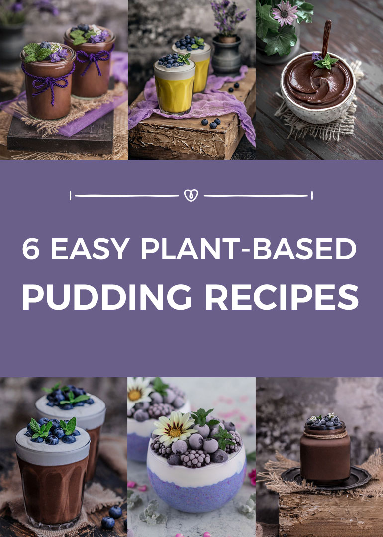 6 Easy Plant-Based Pudding Recipes