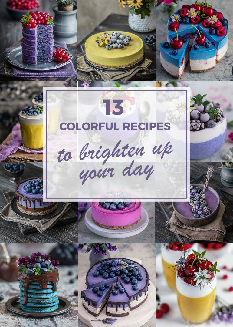13 Colorful Recipes to Brighten up Your Day