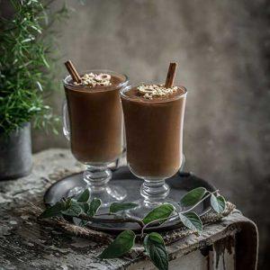 Sweet Potato Chocolate Pudding