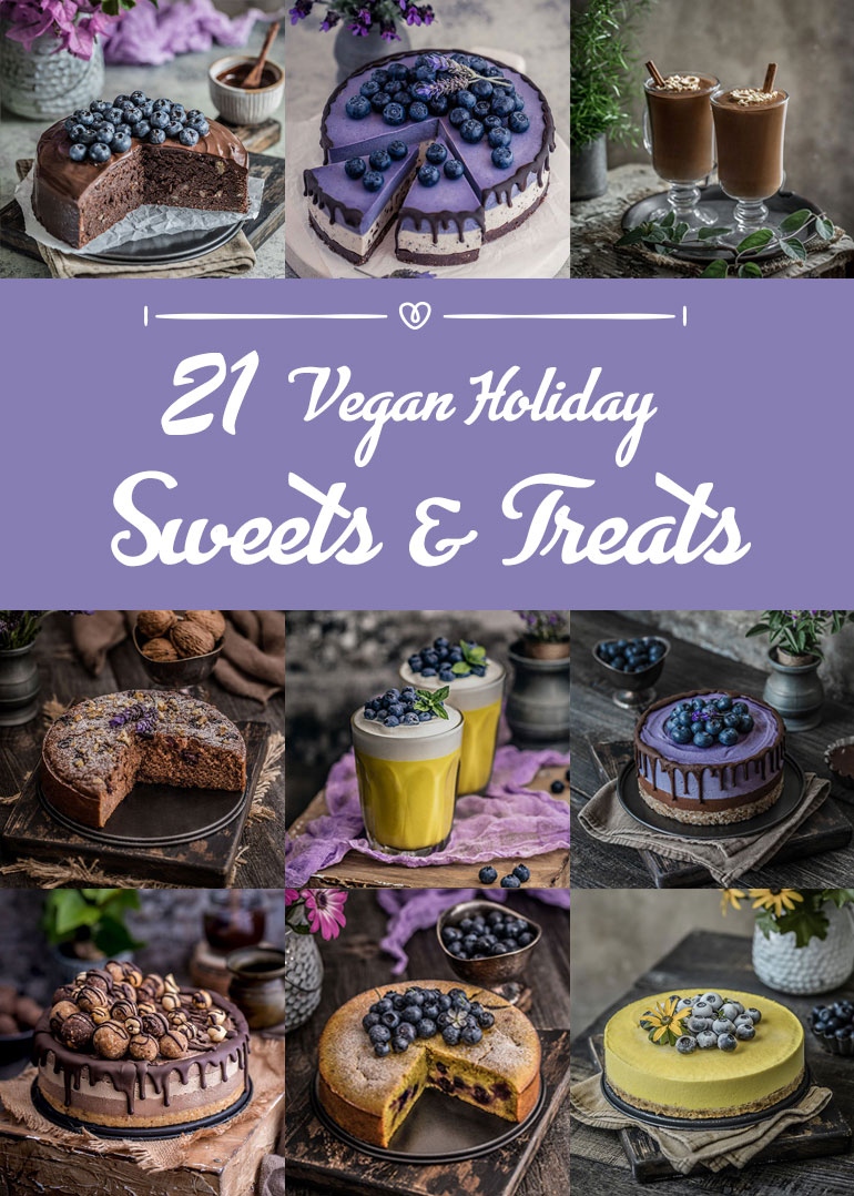 21 Vegan Holiday Sweets & Treats