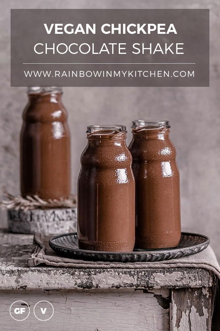 Chickpea Chocolate Shake