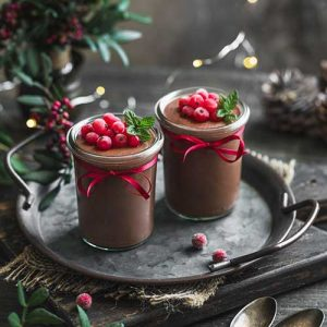 Millet Chocolate Pudding