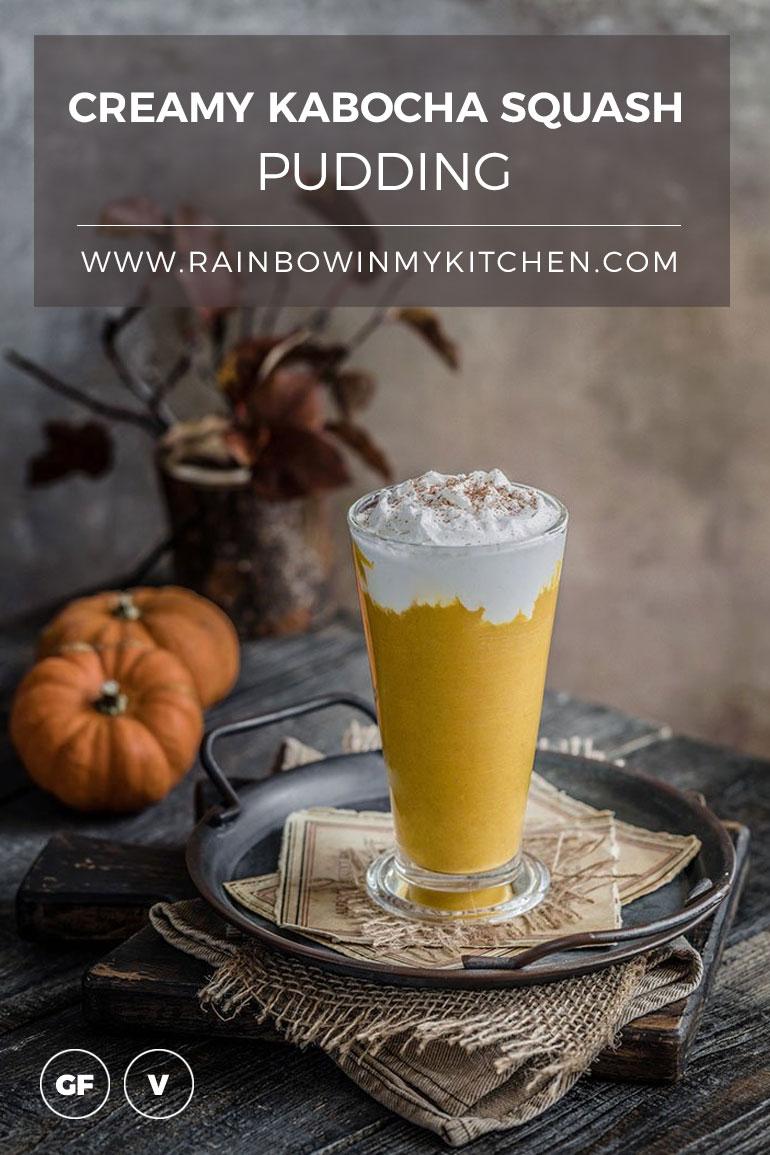 Creamy Kabocha Squash Pudding