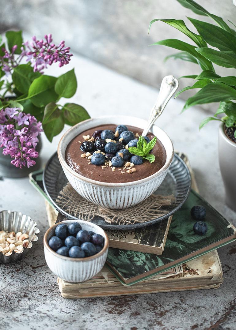 Creamy Chocolate Quinoa Porridge