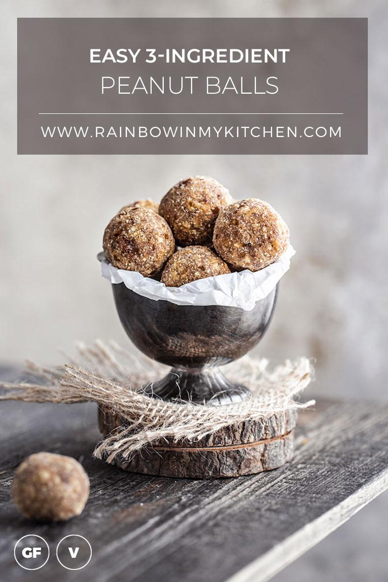 Easy 3-Ingredient Peanut Balls