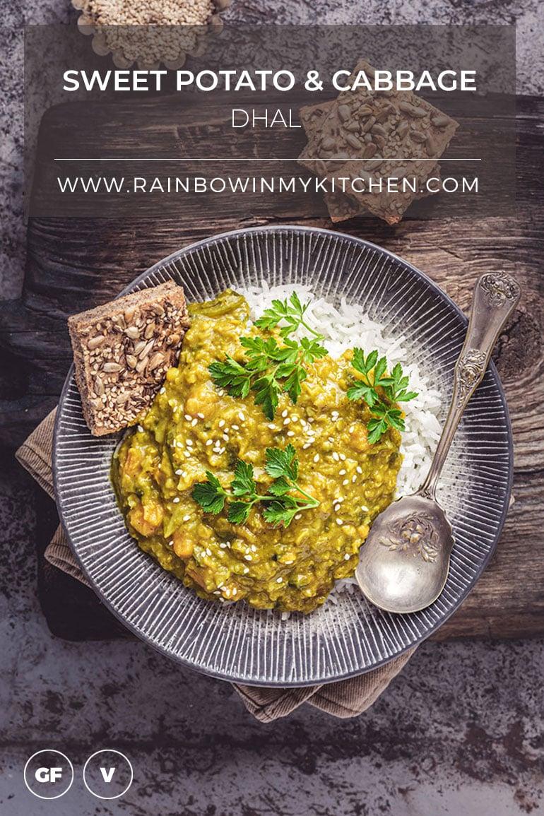 Sweet Potato & Cabbage Dhal